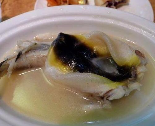 清炖河豚鱼的烹制过程及功效介绍